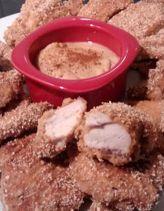 Aiguillettes de poulets panées 100% minceur