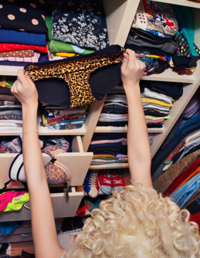 Comment ranger tous ses sous-vêtements dans un tout petit tiroir ?!