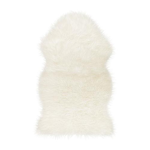 Peau de mouton synthétique, blanc 14,95 €